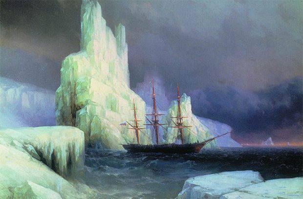 Cómo los marineros rusos descubrieron la Antártida.