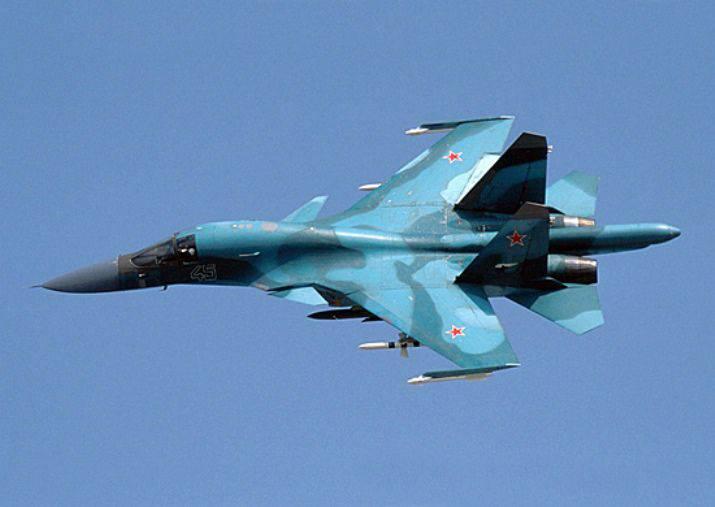 两架新的Su-34轰炸机抵达利佩茨克航空中心