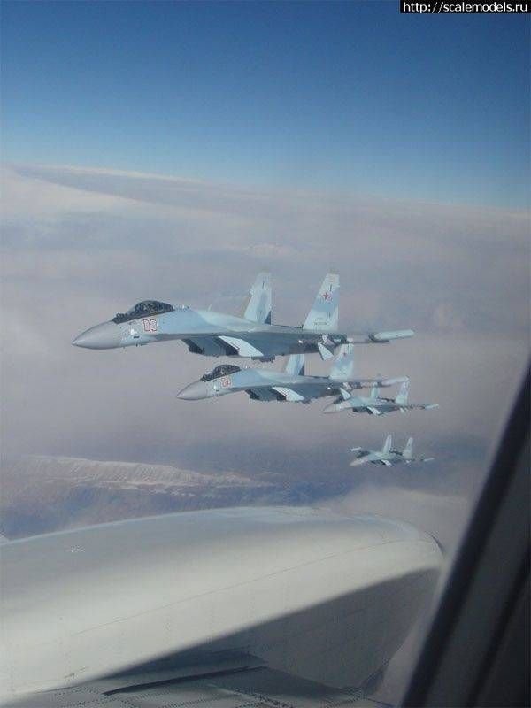Media: 4 newest Su-35С fighters are transferred to Syria
