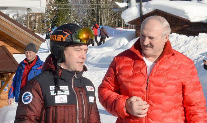Die Dollarbarriere zwischen Russland und Weißrussland oder Was, um die Skier des Unionsstaates zu schmieren?