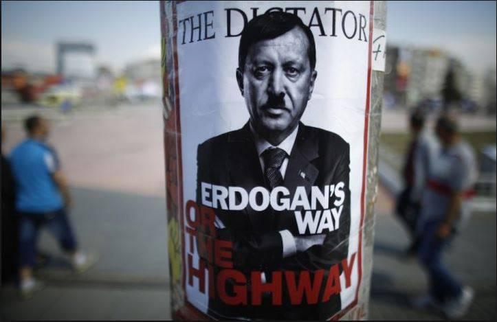 """Erdogan. É possível """"calcular"""" um gato que se imagina um leão?"""
