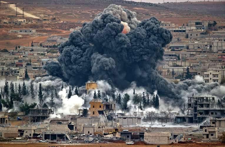 """General americano: greves russas na Síria """"afetam minimamente"""" o IG"""