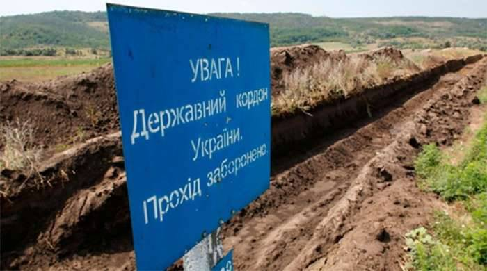 "Ukraine's security ""enhanced"" due to 230 km of anti-tank ditches in the east of the country"