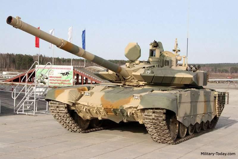 이란 탱크 T-90의 구매를 포기하기로 결정했다.
