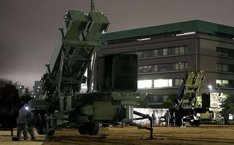 Japan setzte Patriot-Systeme zum Schutz vor nordkoreanischen Raketen ein.