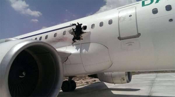Tracce di esplosivi trovati a bordo di un aereo di linea somalo atterrano urgentemente a Mogadiscio