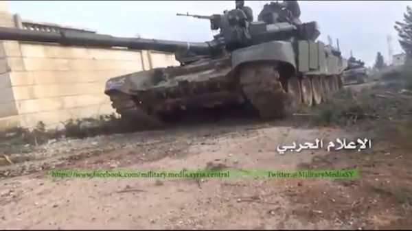 Exército sírio usa tanques T-90 na província de Aleppo