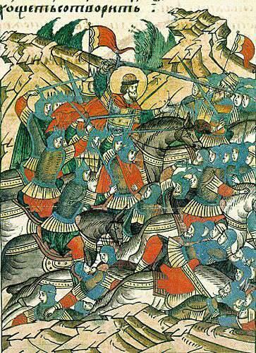 How Alexander Yaroslavich defeated the Swedish knights