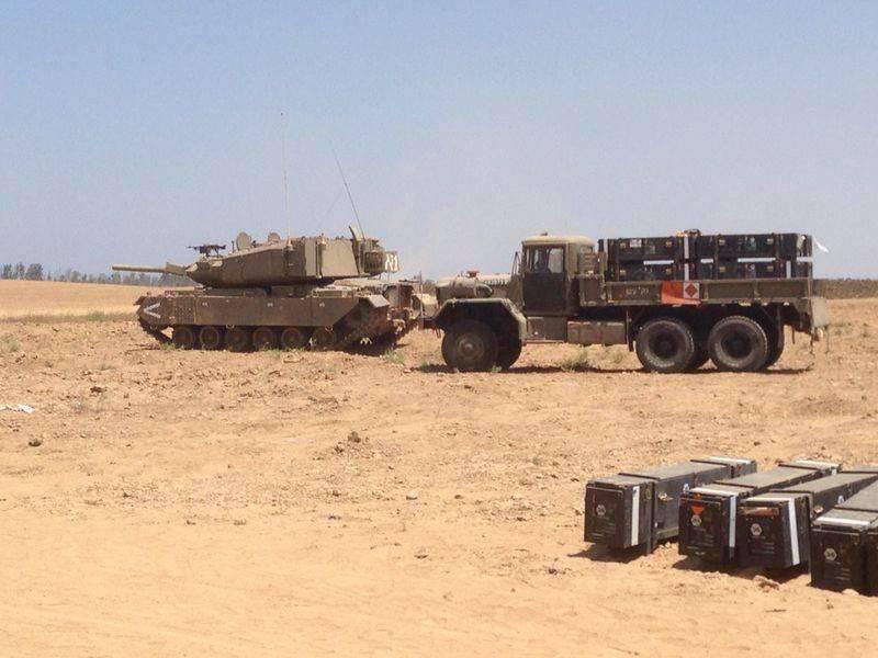 Tanque de mísseis israelenses Pereh