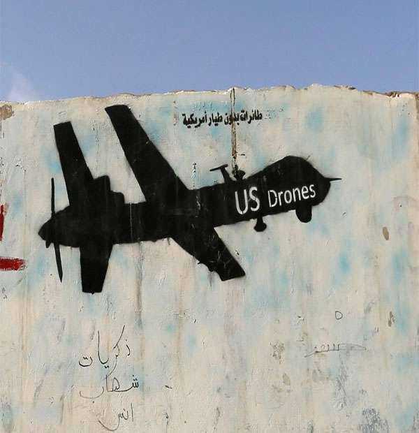 Americans do not know exactly who destroyed their drone in Yemen