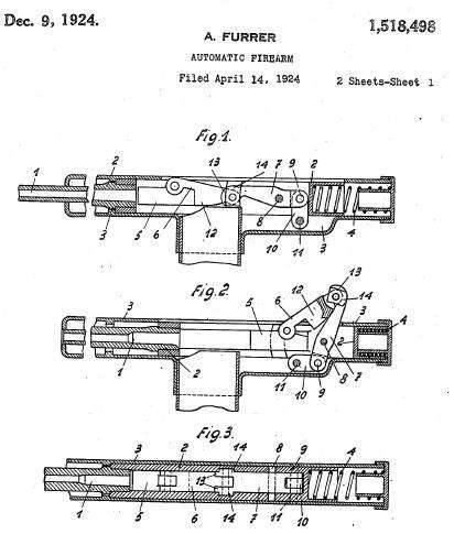 冲锋枪W + F M1919(瑞士)