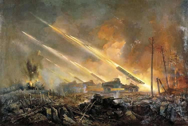 The development of Soviet rocket artillery in the first period of World War II