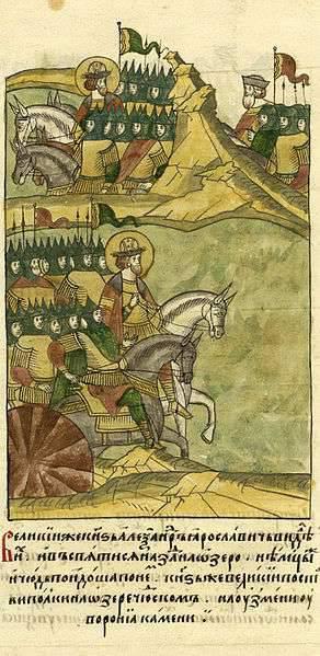 Come Alessandro Yaroslavich sconfisse i cavalieri tedeschi