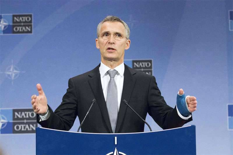 "Following the United States, Stoltenberg accused Russia of ""disrupting the Geneva talks on Syria"""