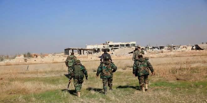 Die syrische Armee führt eine erfolgreiche Offensive in der Provinz Dar'a im Süden Syriens an