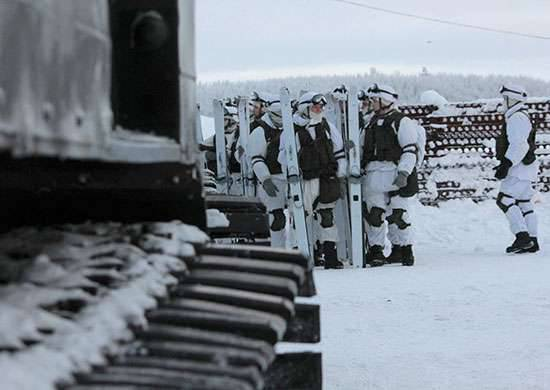 An inspection of the combat readiness of the personnel of the Arctic Brigade of the Federation Council of the Russian Federation