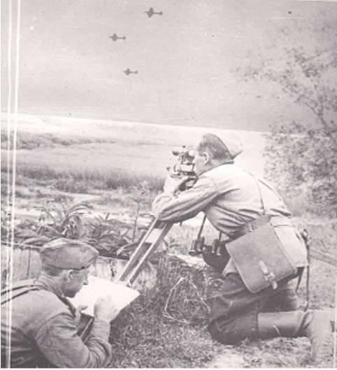 «Глаза армии». День военного топографа