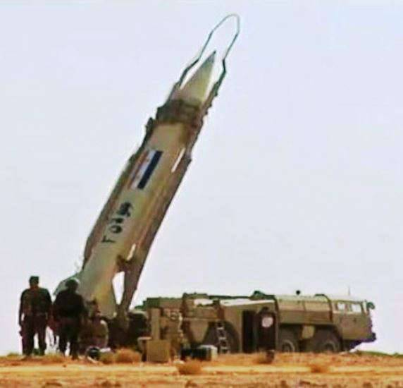 Elbrus missile complexes in the Syrian army