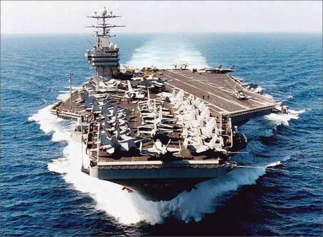 五角大楼向朝鲜半岛地区派出了第二艘航空母舰