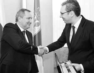 러시아는 자유주의 자의 시위에도 불구하고 세르비아를 총살 할 것임.