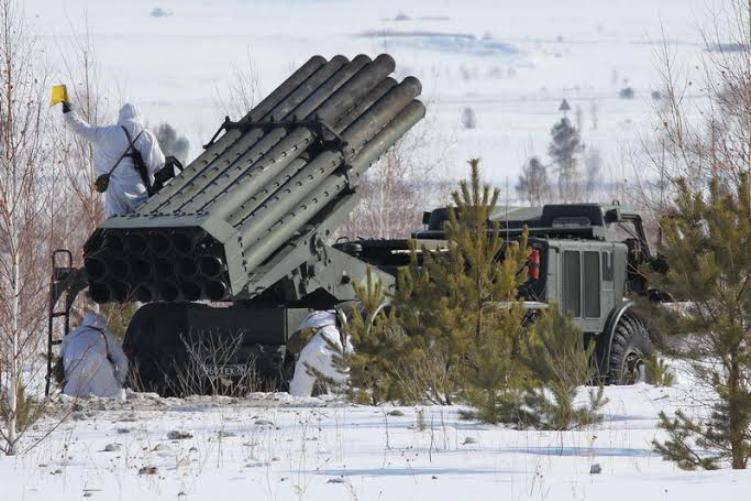 "Eight systems ""Hurricane"" entered the artillery unit ZVO"
