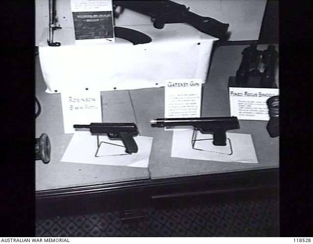 सबमशीन बंदूक गैटेनबी (ऑस्ट्रेलिया)