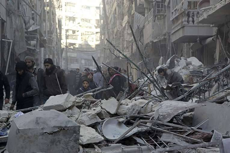 Opinion about the Battle of Aleppo: rebuke to America and the whole world (The Guardian, Great Britain)