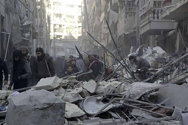 关于阿勒颇战役的观点:对美国和整个世界的谴责(卫报,英国)