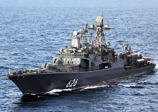 "Mediterranean training crew of the BOD ""Vice Admiral Kulakov"""