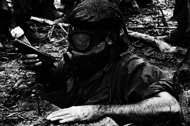 越南战争期间的隧道老鼠(照片中的历史)