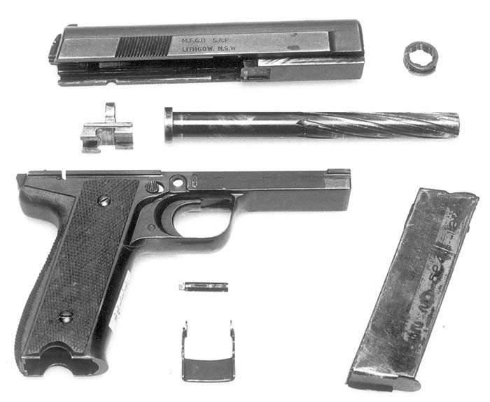 Hafif makineli tüfek R. Robinson Model 11 (Avustralya)