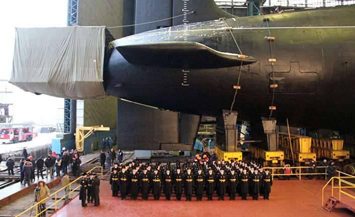 новейшая российская атомная подводная лодка
