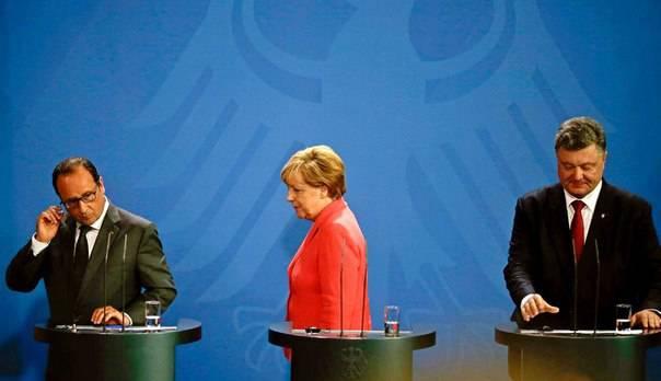 Stanco di Ucraina L'Europa richiede pigramente l'attuazione degli accordi di Minsk