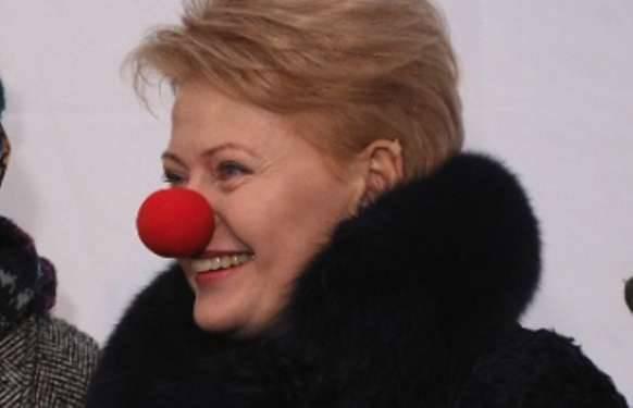 Lituania - una actriz de teatro