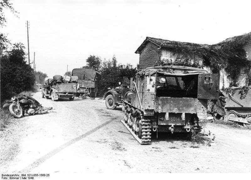 French armored personnel carriers Lorraine 37L and 38L