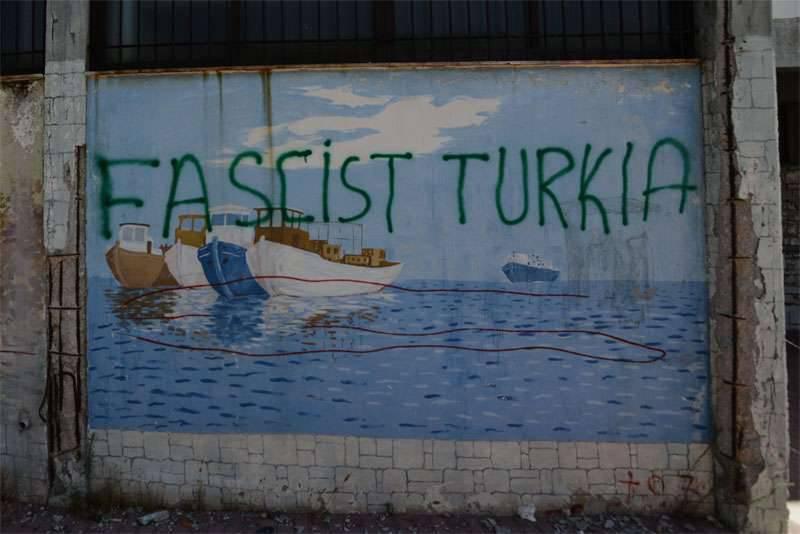 Ancara protestou em conexão com acusações de Washington no bombardeio da artilharia turca curda formações na Síria