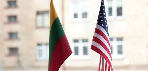 About a hundred American soldiers and several pieces of military equipment transferred to Lithuania