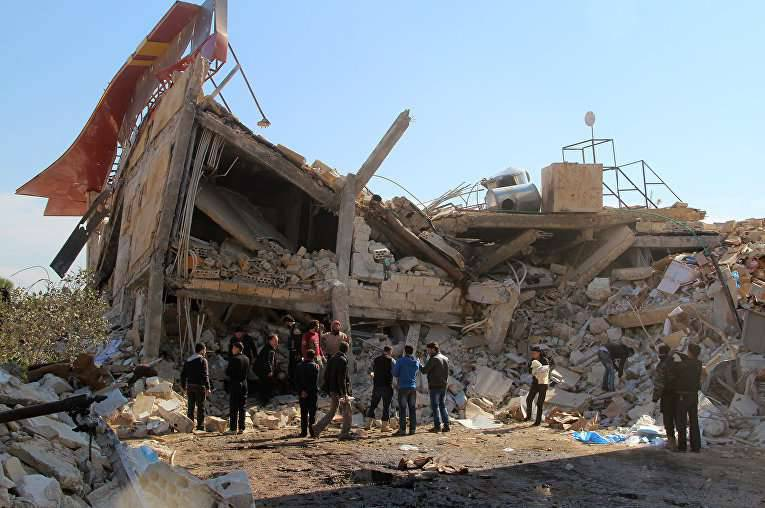 The State Department accused Assad and his allies in the destruction of hospitals