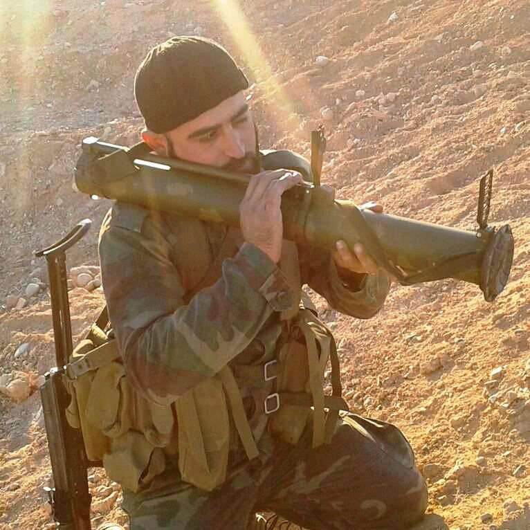 RShG-2 russe est entré dans l'armée syrienne