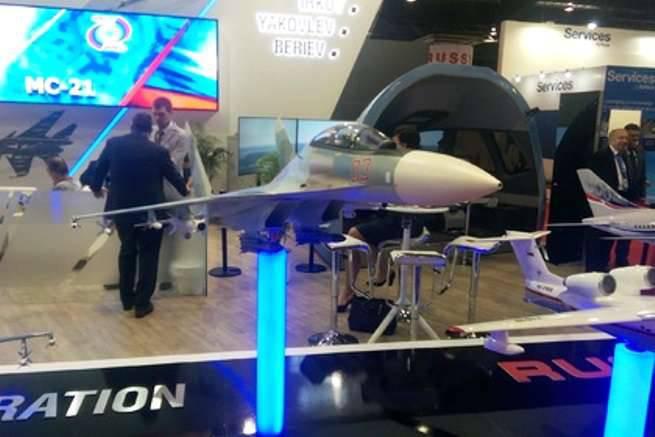 Em Cingapura, demonstrará uma nova modificação do Su-30