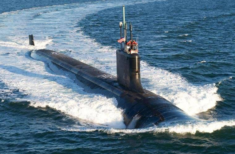 American submarine entered the South Korean port