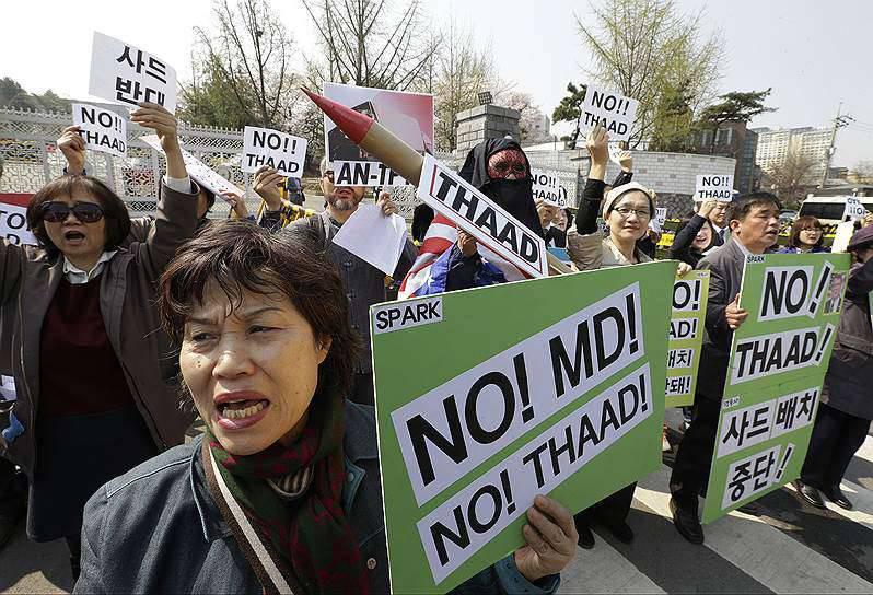 США Разместят в Южной Корее противоракетные комплексы THAAD. Китай выразил недовольство