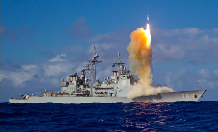 美国导弹射程。 部分2