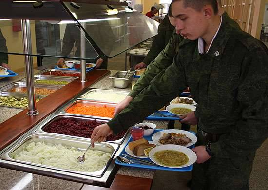 February 18 - Day of the food and clothing service of the Armed Forces of the Russian Federation