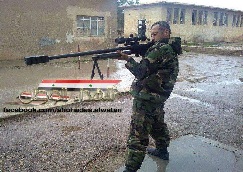 시리아 군대를위한 새로운이란 무기