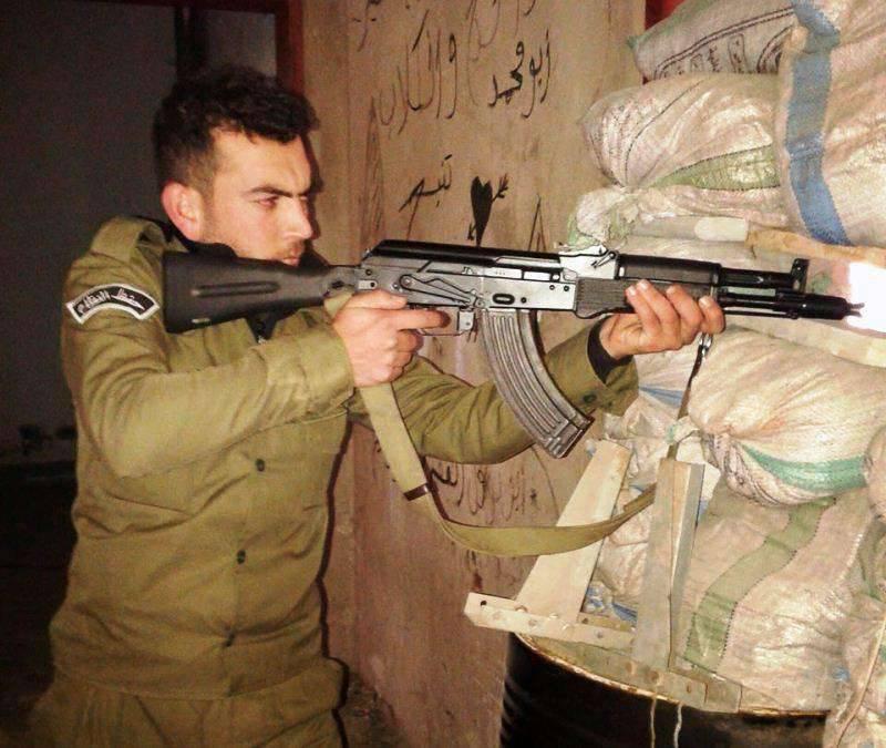 Nouvelles armes et munitions russes en service dans l'armée syrienne