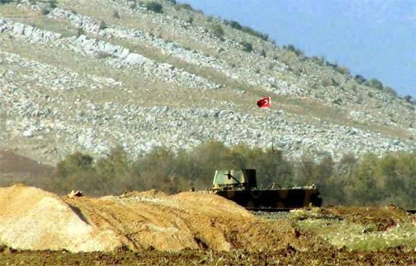 Novas informações sobre as tentativas da Turquia de transferir a infraestrutura de fronteira para o território sírio