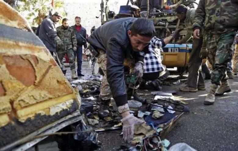 Mídia: Coordenadores de atos terroristas cometidos nos subúrbios da capital síria detidos em Damasco