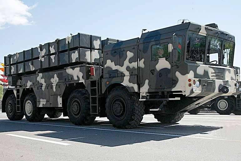 """白俄罗斯国防部不排除MLRS""""Polonez""""的出口"""