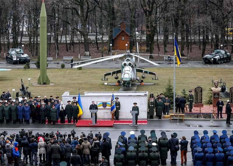 Poroshenko disse que vê a ameaça de uma retomada das hostilidades em grande escala no Donbass em radares